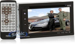 Cables Remote Wiring Diagram Clarion Vx400 In Dash Dvd Player Car Stereo With 6 5