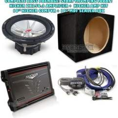 2 Channel Car Amp Wiring Diagram Electric Guitar Diagrams Kicker 06zx2502 05cvr102 Amplifier Power Product Name Cvr 10 Combo Zx250 Cvr102 Mdf Sealed Box Ck8 Kit