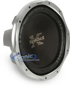 Sony Explodes 12 Subs : explodes, Xplod, XS-L156P5, (XSL156P5), Single, Subwoofer