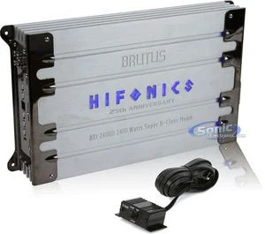 Refurbished Refurbished Hifonics Brutus BXi2408D Class D