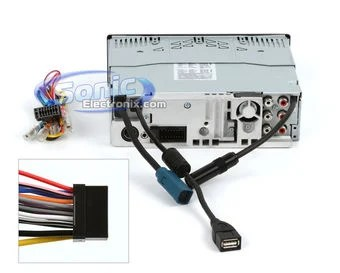 Amp Radio Subwoofers Wiring Alpine Cda 117 Cda117 In Dash Cd Mp3 Wma Aac Receiver