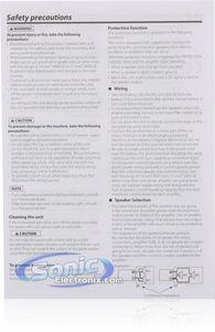 Kenwood XR-5S 1200W Max, 5 Channel Digital Power Amplifier