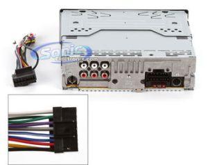 Sony CDXGT34WCDXGT340 Xplod CDMP3 Car Stereo w Aux (CDXGT34W)
