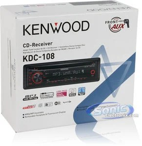 kenwood kdc 108 car stereo wiring diagram 1963 impala steering column kdc108 cd mp3 wma w front aux product name how to install a
