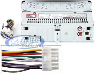 car alarm wiring diagram 1963 impala wiper motor dual xd1225 in-dash cd/cd-rw stereo w/ usb and aux (xd-1225)