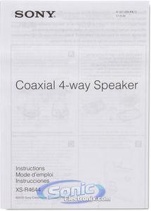 Sony XS-R4644 140W Peak 4