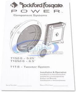 Rockford Fosgate Power T152-S w/ Sound Dampening