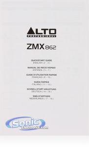 Alto Professional ZEPHYR ZM862 6-Channel Compact Mixer