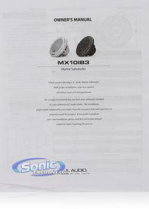 JL Audio MX10IB3-CG-TB 175W 10