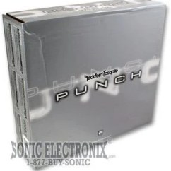 Rockford Fosgate Punch P200 2 Wiring Diagram Rat Muscle Anatomy P2002 Silver Box 200 Watts Product Name 2006 07 Model