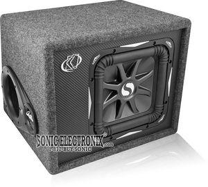 Kicker VS10L74 08VS10L74 10 4 ohm SoloBaric L7 Sub  Box