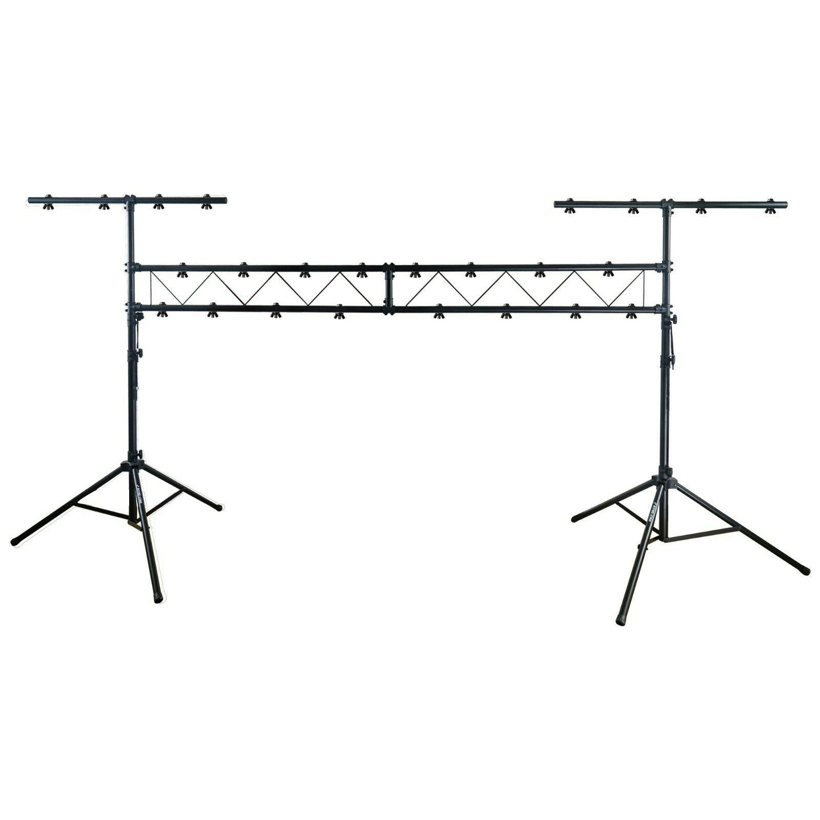 Sound Town Lighting Stand with Truss, Portable Lighting