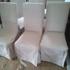 Chair Covers For Sale Gauteng Office Cylinder Wetherlys Slip Cover Dining Chairs X6 In Johannesburg