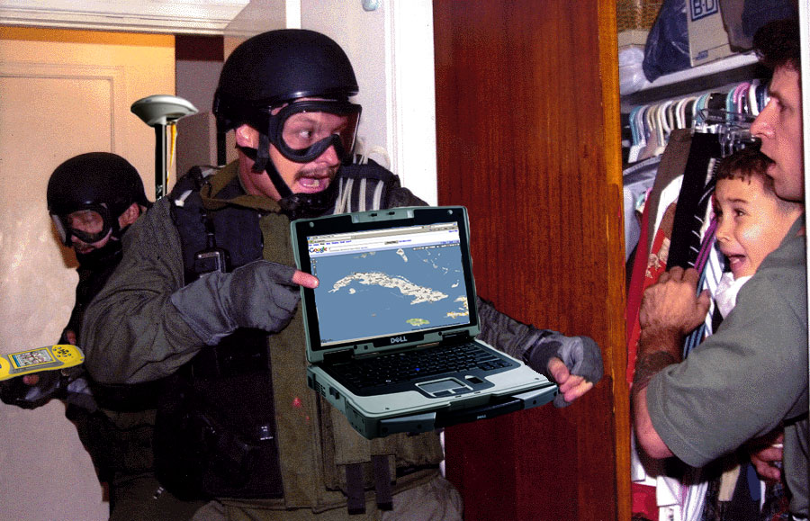 GIS on the front lines of law enforcement