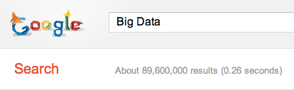 Google Search for Big Dat