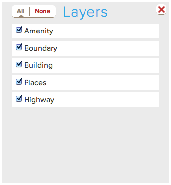 OSM-Layers