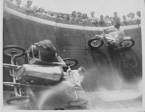 If we are going to go out on the GeoWeb wall of death, well need a sidecar.