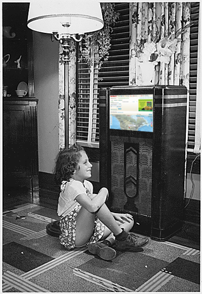 Back in the 40s, my Mom used to listen to MapQuest on the radio every night.