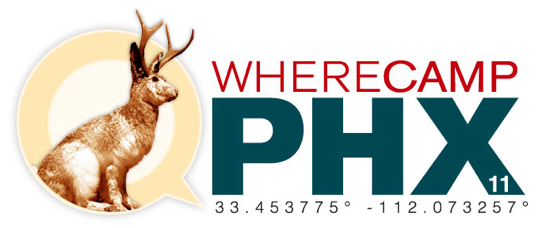 WhereCampPHX Logo