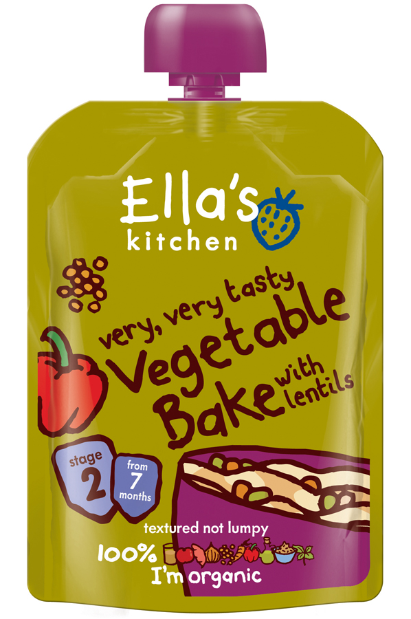 Ella Kitchen Vegetable Bake 130g
