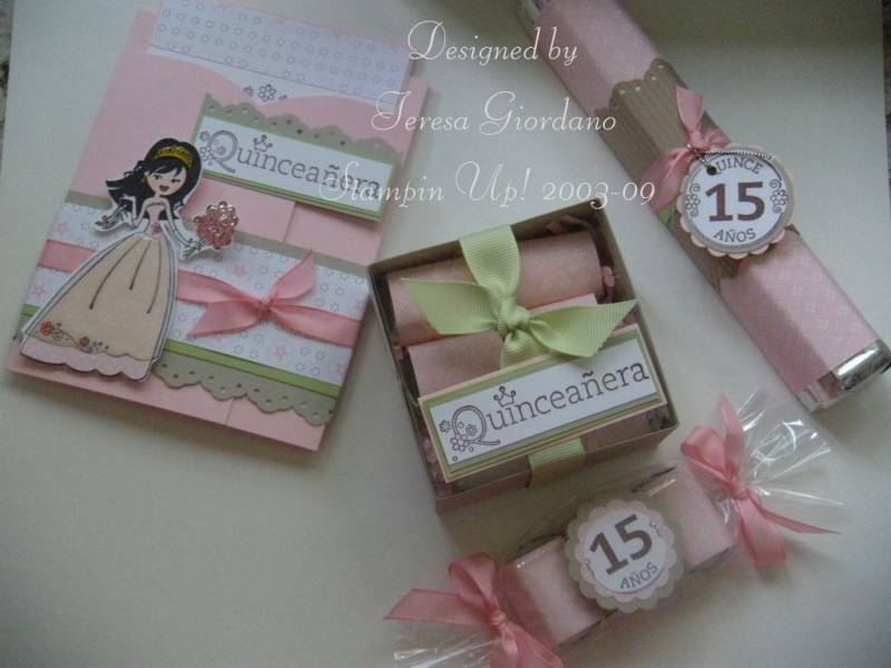 Quinceaera Party by Teresa Giordano  at Splitcoaststampers