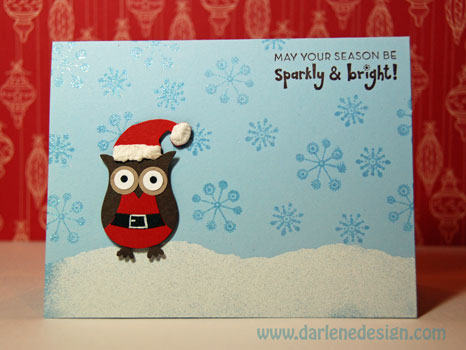 Two Step Owl Punch Christmas By Darlenedesign At
