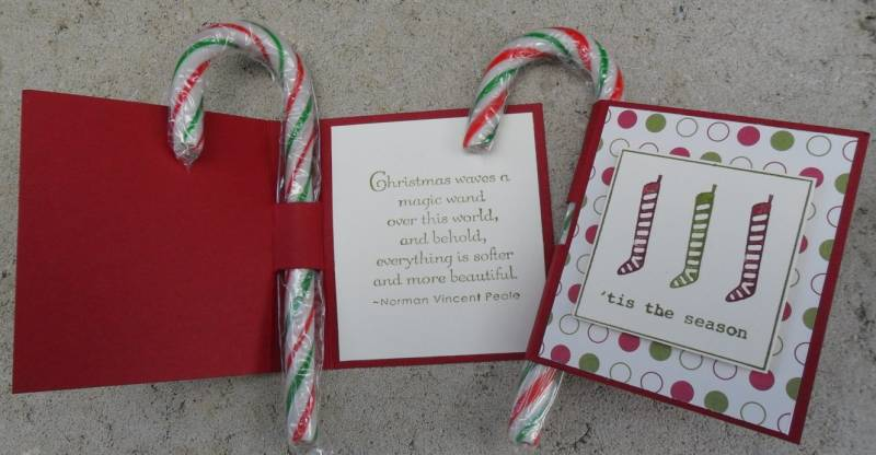 Candy Cane Holders By ChristieW At Splitcoaststampers