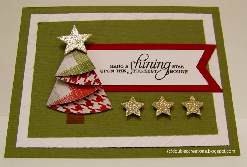 TLC403 Folded Christmas Tree By Ladybugtwin At