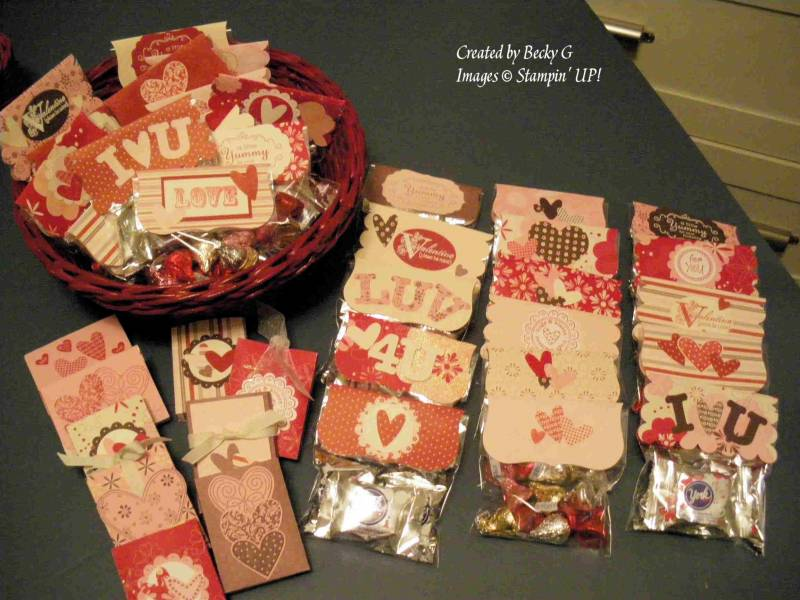 Valentine treats for coworkers by BeckyG3  at