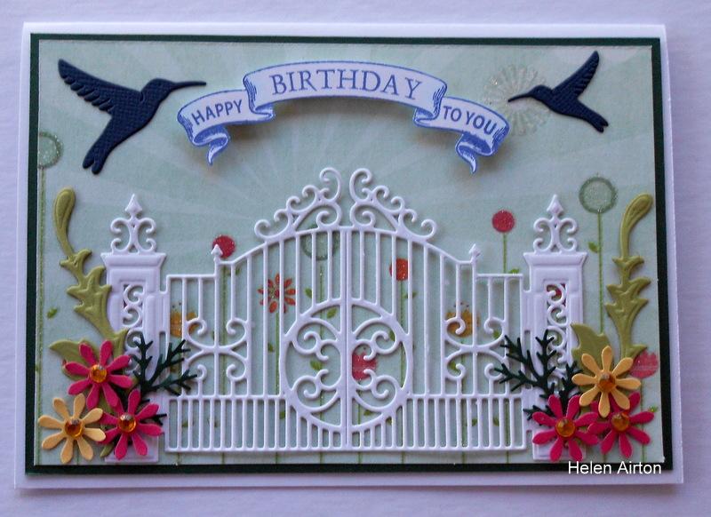 DTGD13frenziedstamper Garden Gate By Waratah At