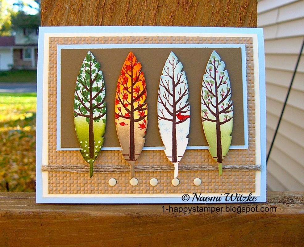 The Four Seasons By NaomiW At Splitcoaststampers
