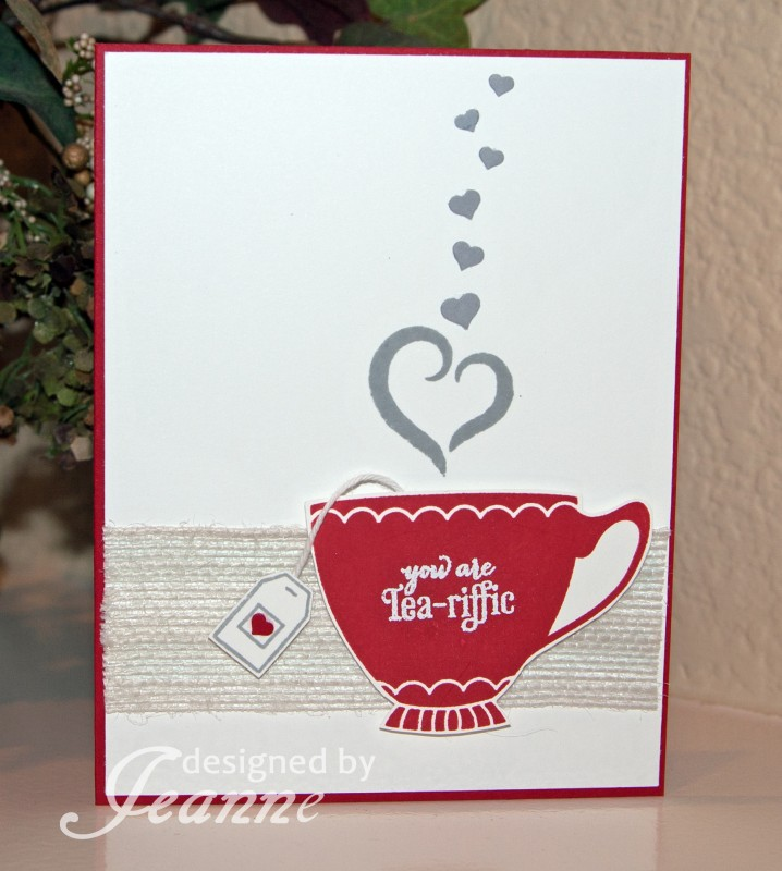 Tea Riffic Valentine By Penny627 At Splitcoaststampers
