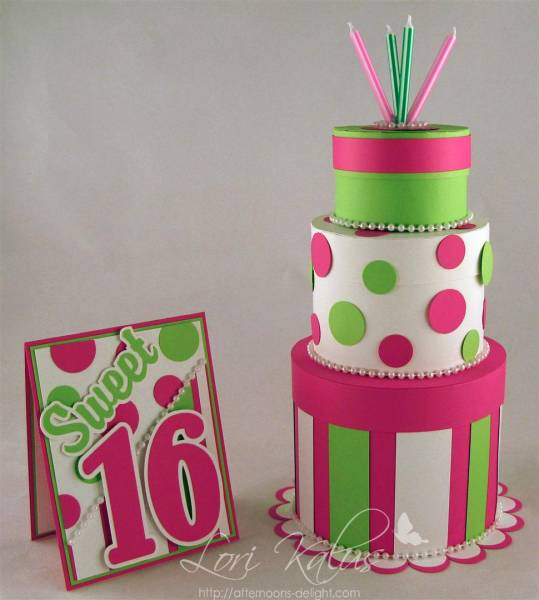Sweet 16 3 Tier Cake By Lorilk At Splitcoaststampers