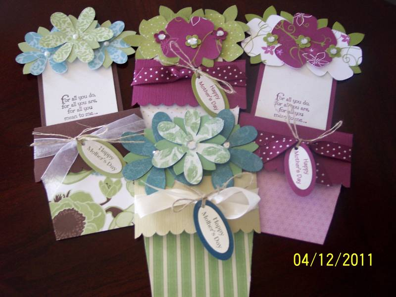 Pretty Mother's Day Flower Pots By Auntie Beaner At