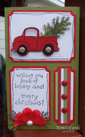 Loads Of Holiday Cheer By Kimr At Splitcoaststampers