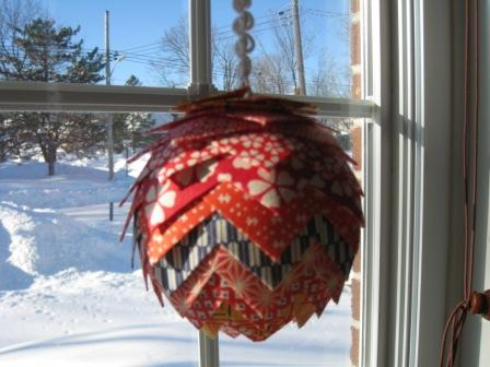 Origami Christmas Ornament By NaomiMontreal At