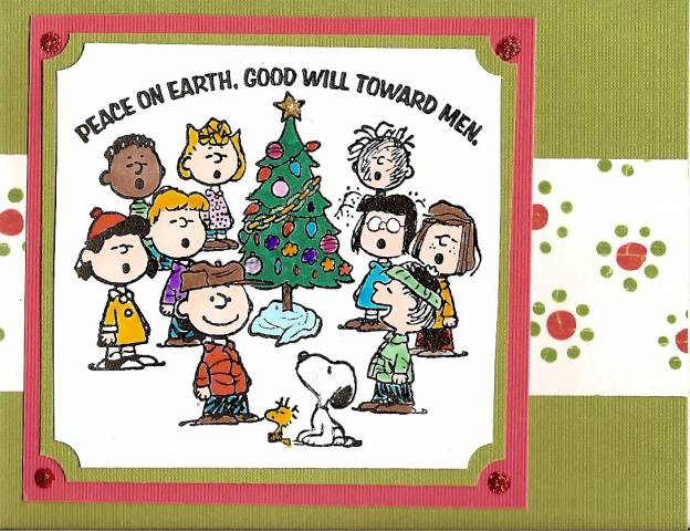 Snoopy Christmas By Skittl1321 At Splitcoaststampers