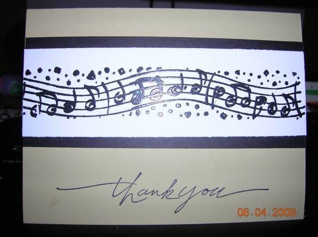 Music Teacher Thank You Card By Boobalet At