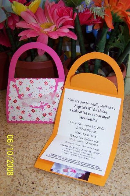 Birthday Purse Invitation By Su Acalano At