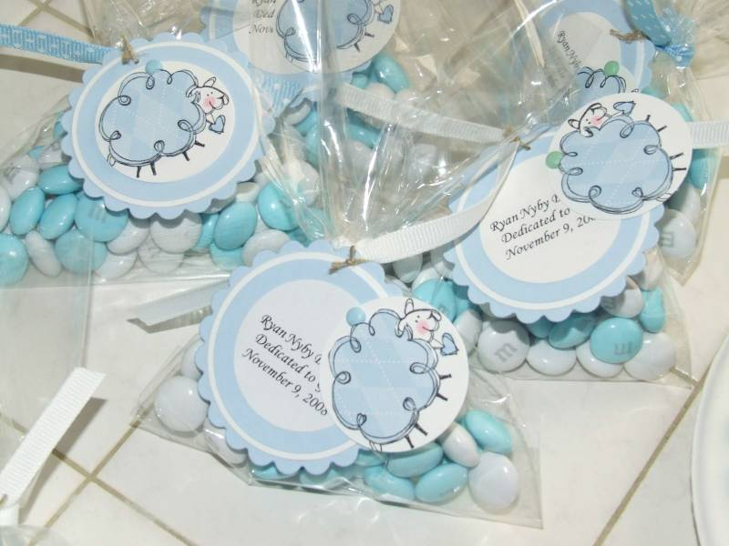 Baby's Dedication Favors By Teapot Lady At