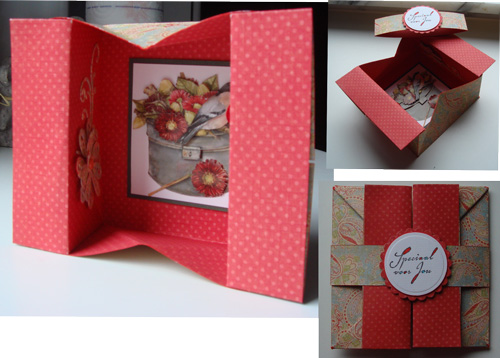F4A43 A Flower Box In A Box Card By Niki1 At