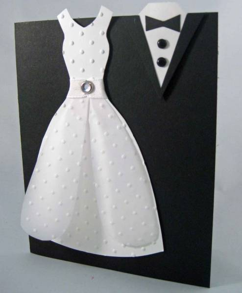 Bride and Groom by betty82402  at Splitcoaststampers