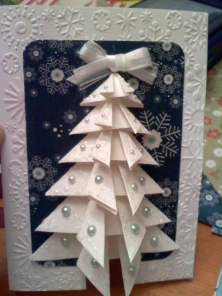 3D Tree Card By Cindalu At Splitcoaststampers