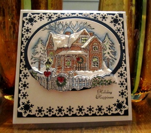 Gingerbread House By GailNM At Splitcoaststampers