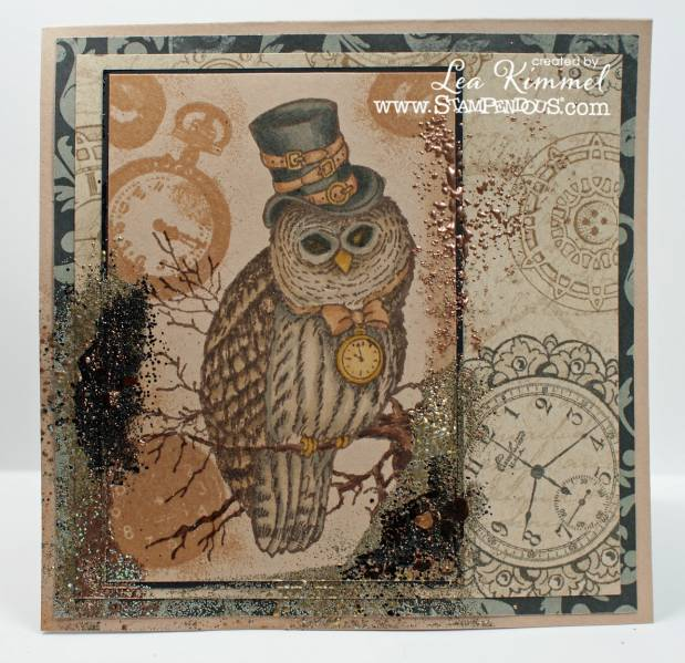 Stampendous Steampunk Owl By Leadonna24 At