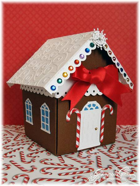 Gingerbread House Explosion Box By Myimajennation At