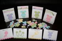 Cricut Baby Shower Samples by cloetzu - at Splitcoaststampers