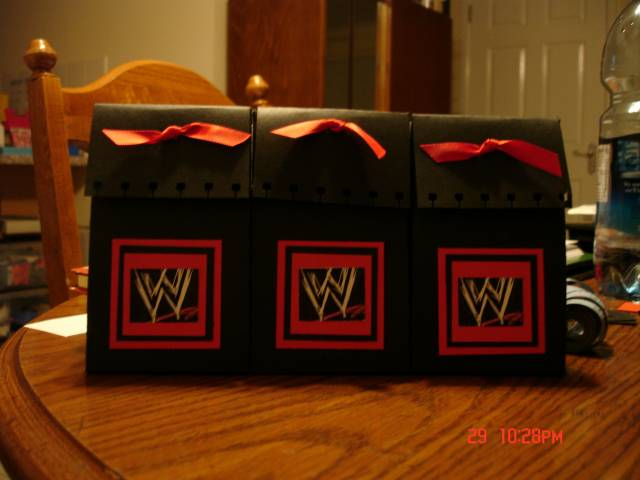 WWE Gift Bags By Stampin Mama At Splitcoaststampers