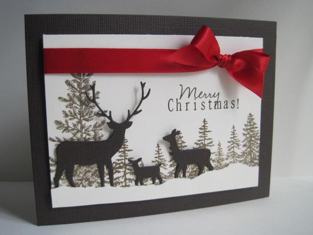 Merry Christmas Deer By Lisaadd At Splitcoaststampers