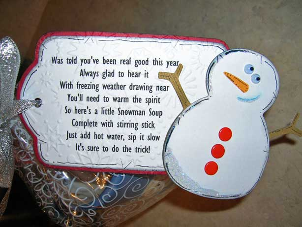 Snowman Soup Tag By Scrapbookmommy At Splitcoaststampers